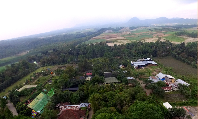 drone kampoeng anggrek